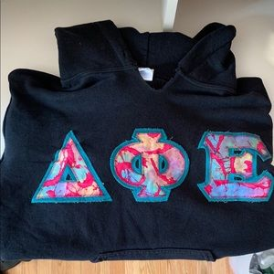 Delta Phi Epsilon hoodie